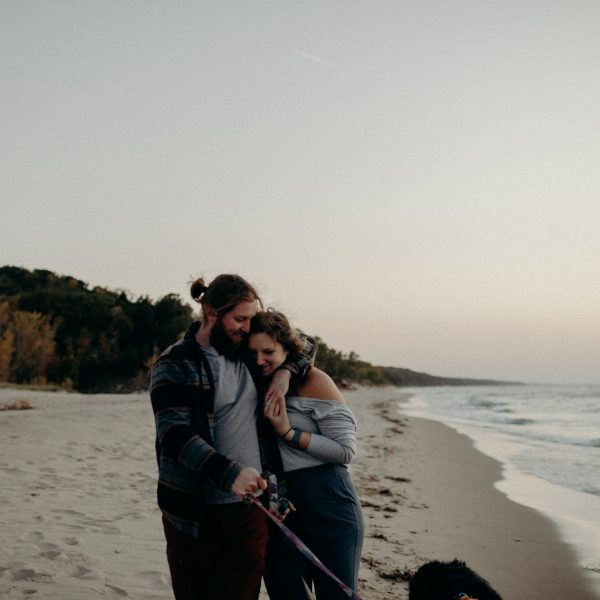 Aaron + Steph (and the pups)